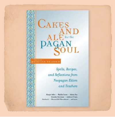 Book Cover Cakes and Ale for the Pagan Soul