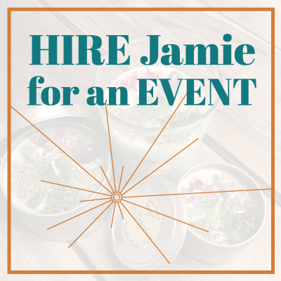 Hire Jamie for an Event